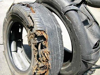 tire- explosion